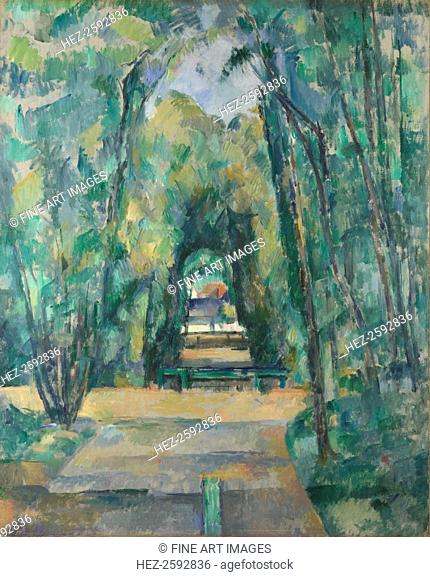 Avenue at Chantilly, 1888. Found in the collection of the National Gallery, London