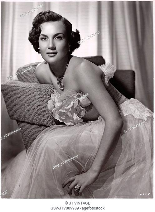 Maria Elena Marques, Publicity Portrait for the Film, Across the Wide Missouri, Loew's Inc./MGM, 1951