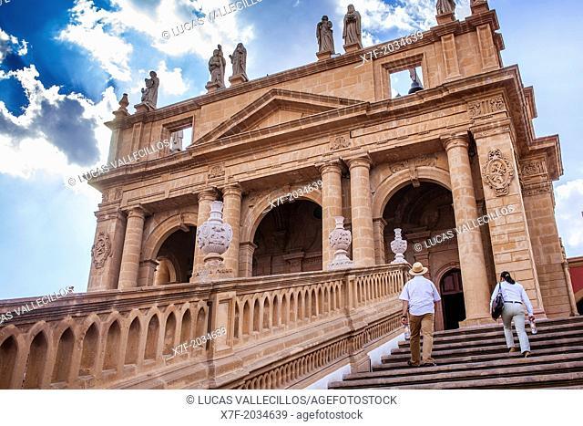 Calvario church, Lagos de Moreno, Jalisco, Mexico