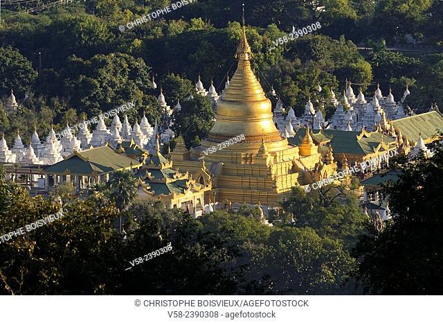 Myanmar, Mandalay, Kuthodaw pagoda