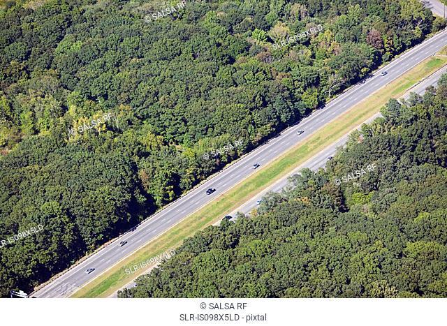 Highway, Newport County, Rhode Island, USA