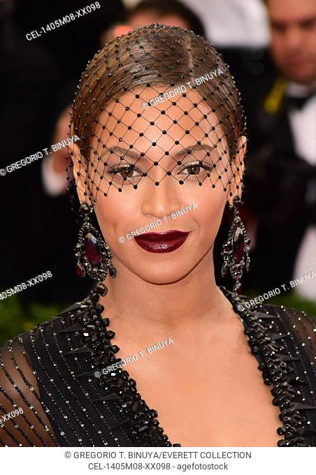 Beyonce Knowles at arrivals for 'Charles James: Beyond Fashion' Opening Night at The Metropolitan Museum of Art Annual Gala - Part 6