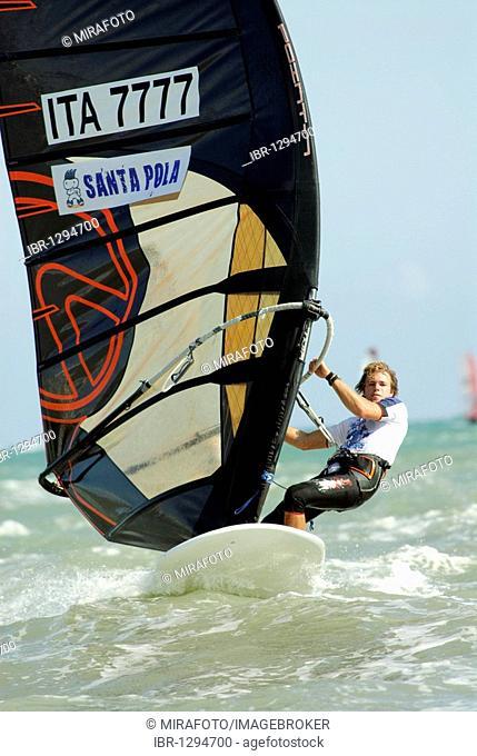 Malte Reuscher, Italy, Formula Windsurfing World Championship in Santa Pola, Spain, Europe