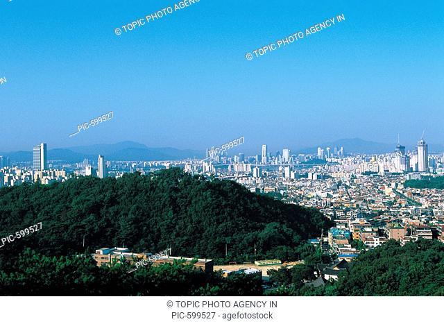 Mt  Achasan,Gwangjin-gu,Seoul,Korea