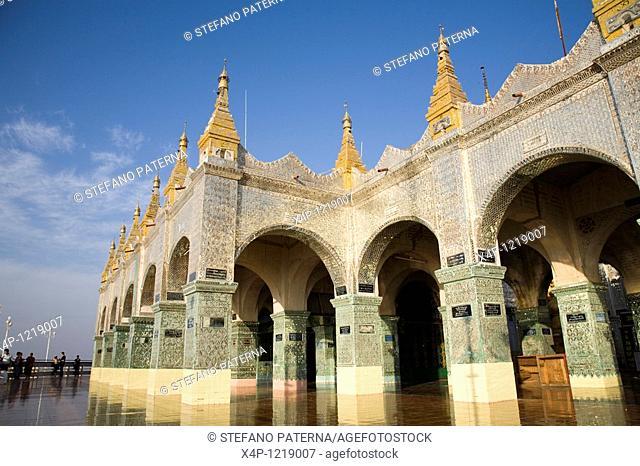 Mandalay Hill Pagoda. Mandalay, Myanmar