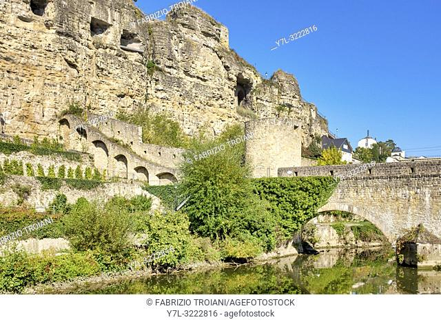 The Bock is a promontory in the north-eastern corner of Luxembourg City's old historical district, Luxembourg City