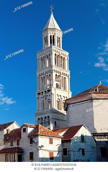 The Dioclecianan Palace in Split Croatia