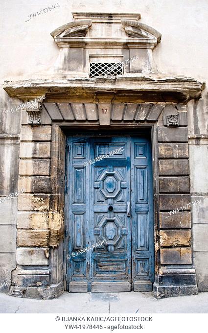 Old door, Nimes, France
