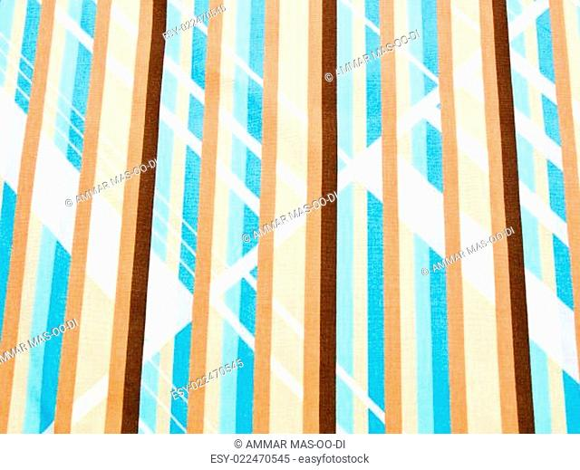 Light blue Lines fabric as background