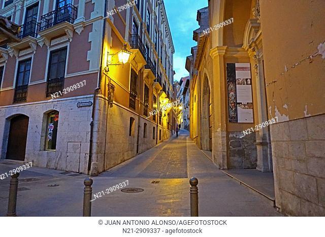 Old street. Teruel, Aragon, Spain, Europe