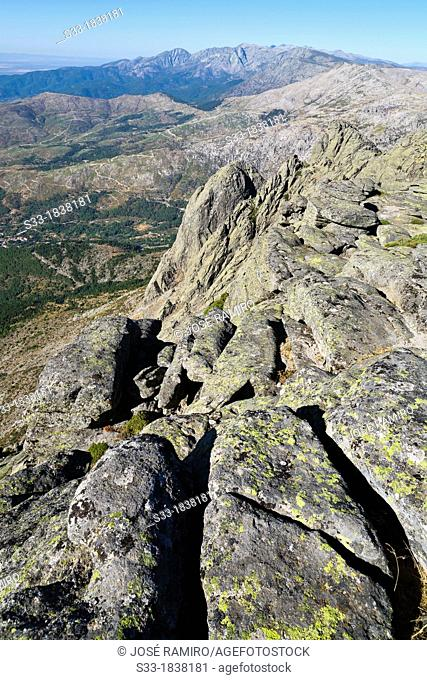 Sierra de Gredos from the Torozo peak  Ávila  Castilla León  Spain