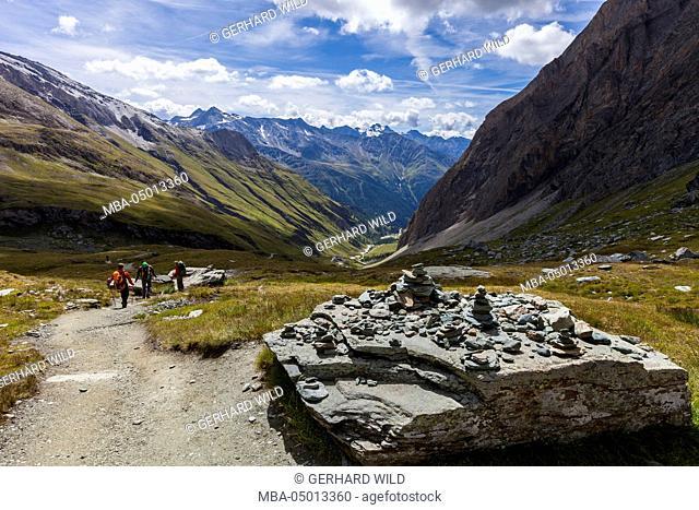 Austria, East Tyrol, National Park Hohe Tauern, Ködnitztal
