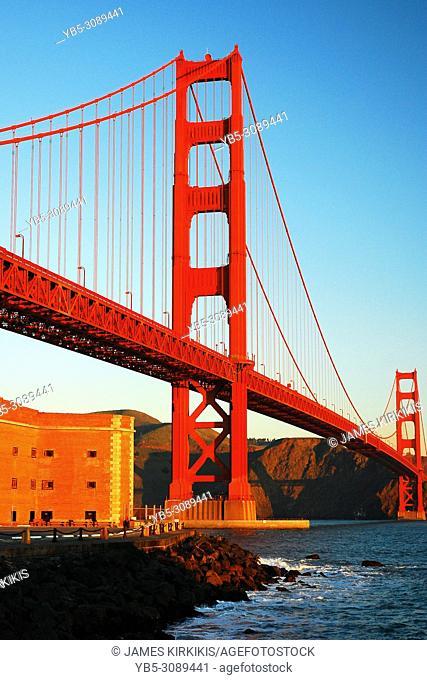 Golden Gate Bridge and Ft Ross