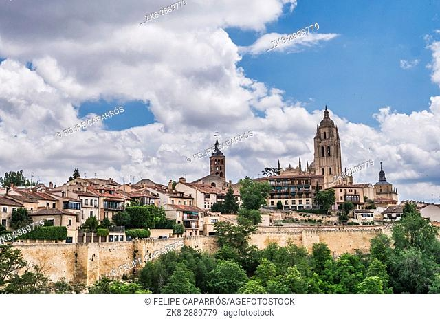 Cathedral of Segovia or called correctly in Spanish ''Saint Iglesia Catedral of Our Lady of the Asunción and of San Frutos''