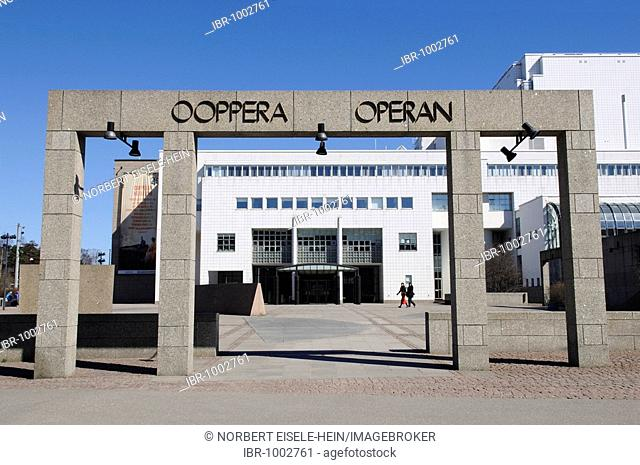 Opera House, Helsinki, Finland, Europe