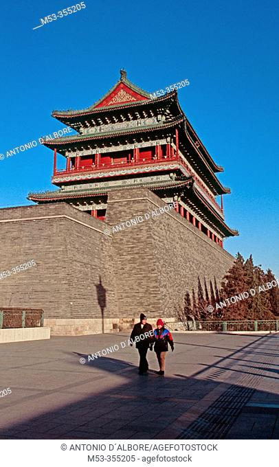 Qianmen gate, Beijing. China