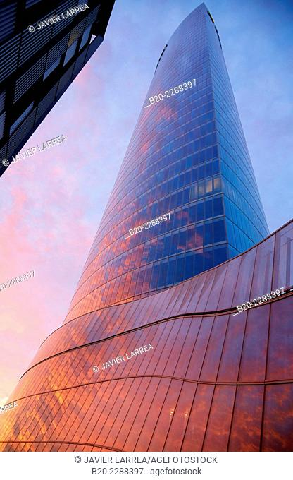 Iberdrola Tower, Bilbao, Bizkaia, Basque Country, Spain