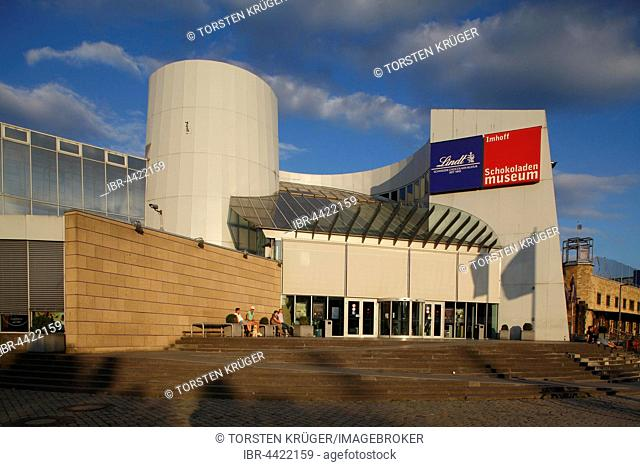 Chocolate museum, Imhoff-Stollwerck-Museum, Cologne, North Rhine-Westphalia, Germany