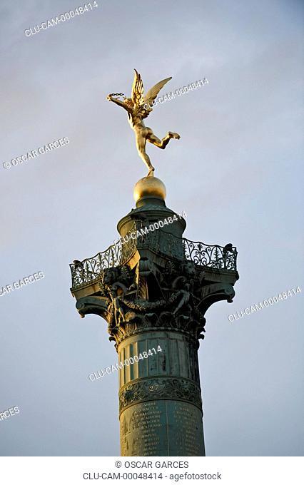 July Column, Paris, France, Western Europe