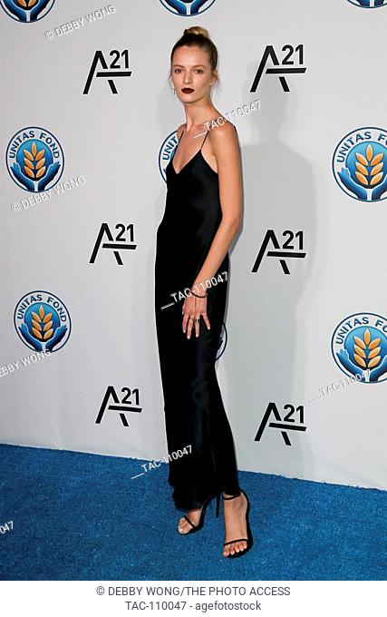 NEW YORK-SEP 15: Daria Strokous attends the Unitas Gala Against Sex Trafficking at Capitale on September 15, 2015 in New York City