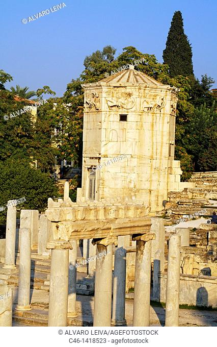 Tower of the Winds and Roman agora, Athens  Greece