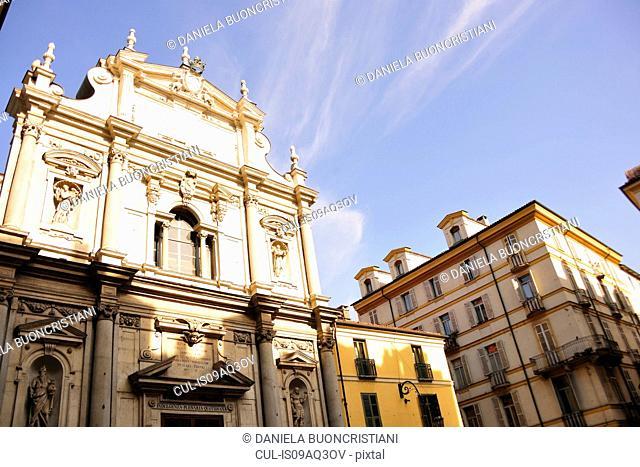 Church Basilica del Corpus Domini, Turin, Piedmont, Italy