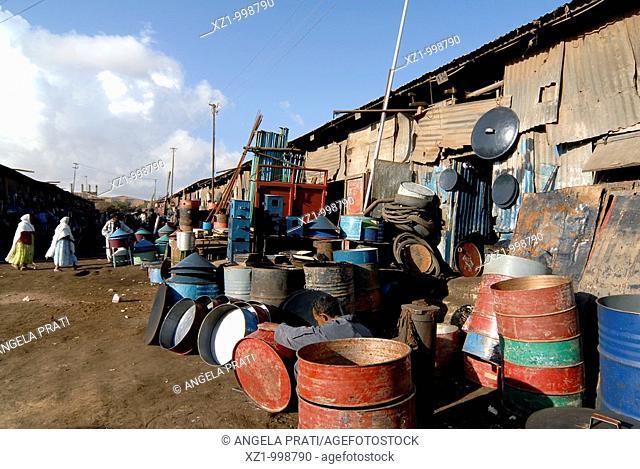 Africa,Eritrea,Asmara,Madebar market