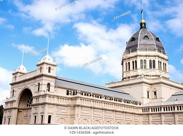 Royal Exhibition Building, Melbourne, Victoria, Australia, built for the 1880 International Exhibition by Joseph Reed
