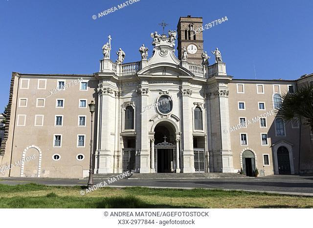 Basilica of the Holy Cross in Jerusalem. Basilica di Santa Croce in Gerusalemme. Rome, Italy