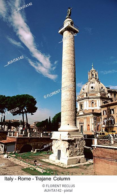 Italy - Rome - Trajane Column