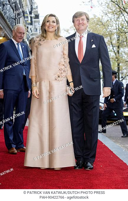King Willem-Alexander and Queen Maxima of The Netherlands attend the annual concert at the Amstel on Liberation day in Amsterdam, The Netherlands, 5 May 2017