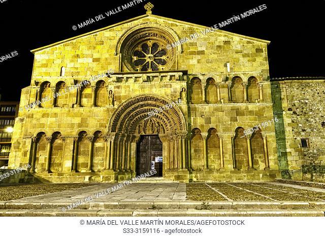 St. Domingo church in Soria. Castilla León. Spain. Europe