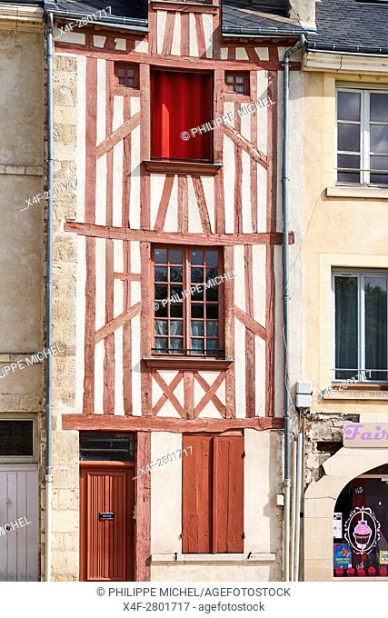 France, Loiret, Orleans, Charpenterie street