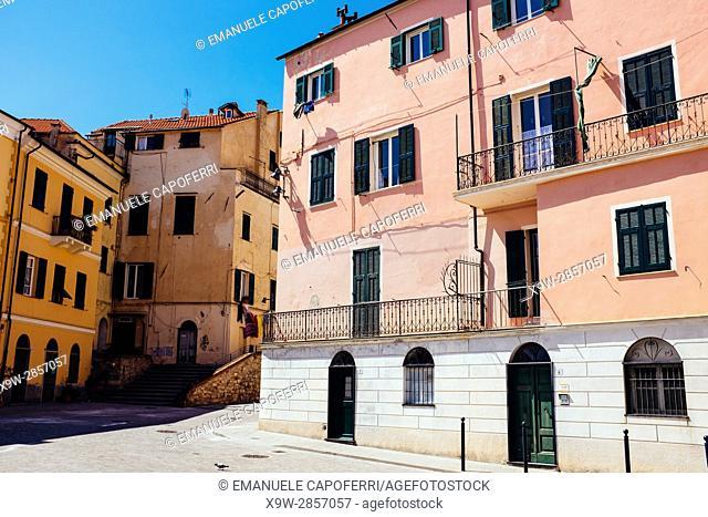 View of Porto San Maurizio, Imperia, , Liguria, Italy