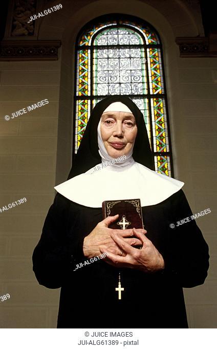Portrait of nun