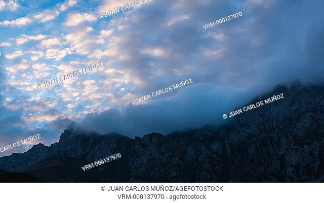 Mountains in Liebana Valley
