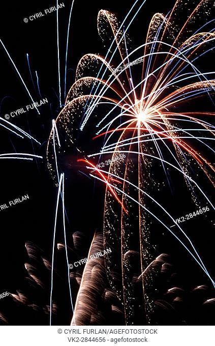 Fourth of July Fireworks America