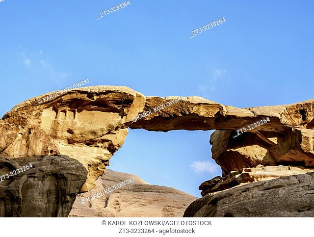 Um Fruth Rock Bridge, Wadi Rum, Aqaba Governorate, Jordan