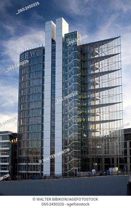Germany, Baden-Wurttemburg, Stuttgart, Mailander Platz, LB-BW building