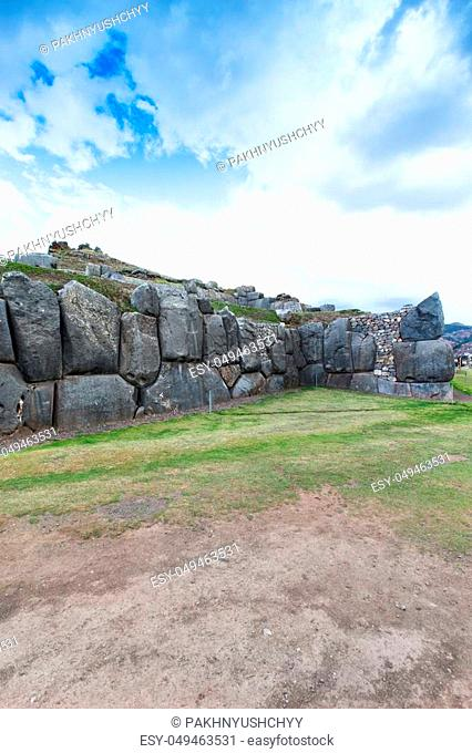Sacsayhuaman: Inca archaeological site in Cusco, Peru