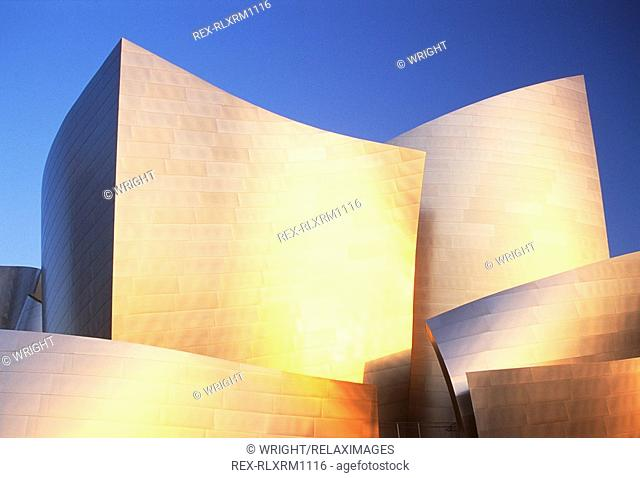 Walt Disney Concert Hall, Los Angeles, California, USA