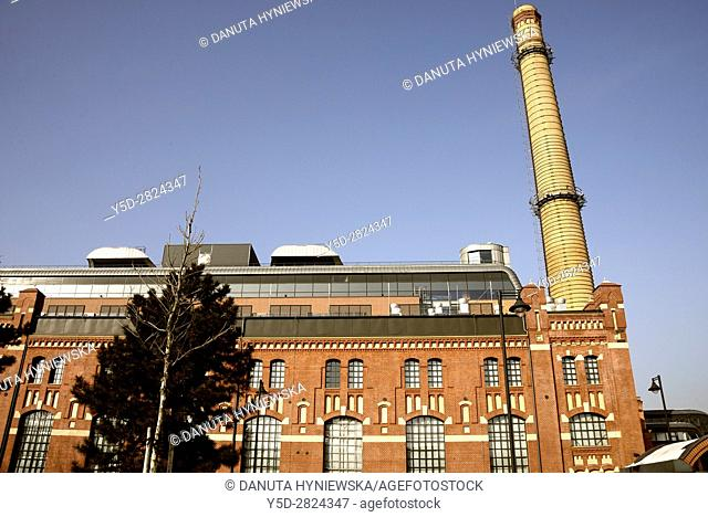 EC 1 - The first city power plant in Lodz was opened in 1907 at Targowa street and operated until 2001,from 2008 the whole complex of buildings of the former...