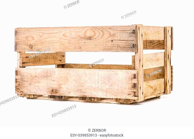 vintage wooden wine crate