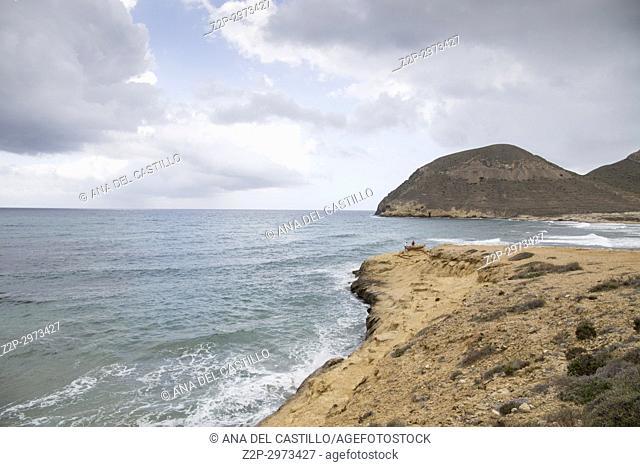 El Playazo beach in Cabo de Gata, Almeria, Andalusia, Spain