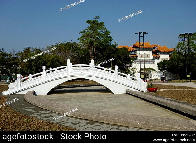 Brücke am Konfuzius Tempel in Kaohsiung