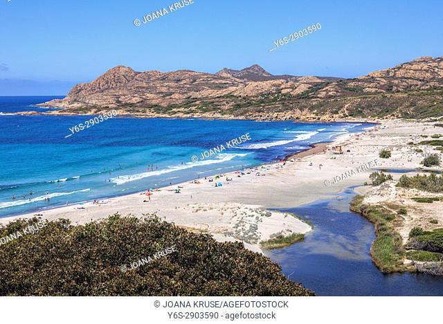 Ostriconi, Agriates, Saint-Florent, Haute-Corse, Corsica, France