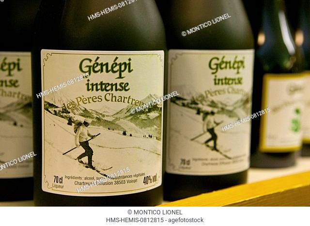 France, Isere, Voiron, Genepi, the cellars of Chartreuse