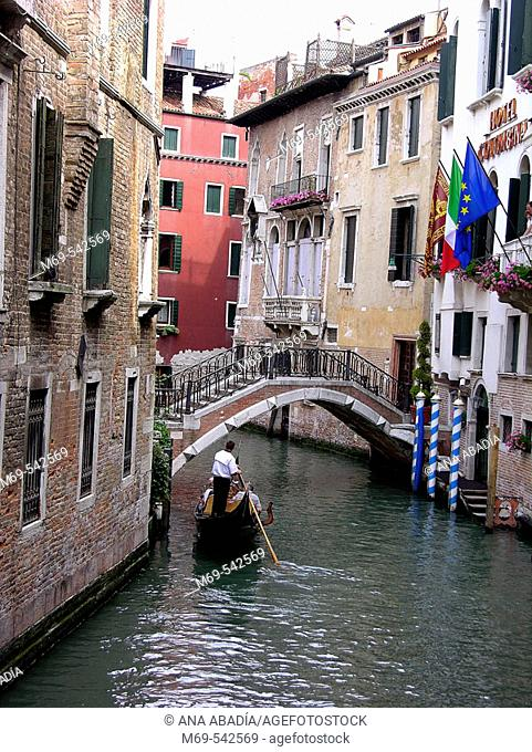 Canal view. Venice. Italy