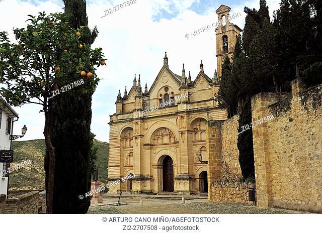 The Real Colegiata de Santa María La Mayor, XVI century. Antequera, Málaga province, Spain