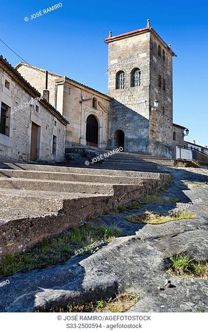 Church in Regumiel de la Sierra. Burgos. Castilla León. Spain
